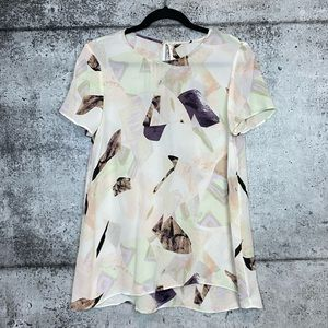 Aritzia | Wilfred | Cypress Abstract Silk Top